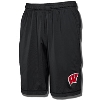 Image for Under Armour Wisconsin Raid Shorts (Black) 3X