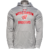 Cover Image for Blue 84 Wisconsin Badger Hooded Sweatshirt (Gray)