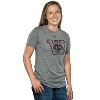 Cover Image for Under Armour Women's Bucky Badger Triblend Crew Tee (Red)