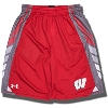 Image for Under Armour Youth Wisconsin Badgers Select Shorts (Red) *