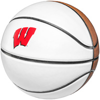 Cover Image For Rawlings Wisconsin Autograph Basketball