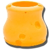 Image for Foamation, Inc. Round Cheese Coozie
