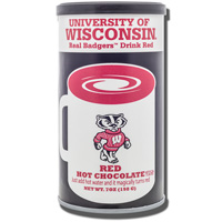 Image For Jardine Wisconsin Badgers Hot Chocolate Mix (Red)