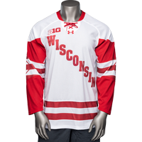 Image For Under Armour WI Replica Hockey Jersey (White)