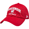 Cover Image for Under Armour Russell Wilson Wisconsin Football T-Shirt (Red)