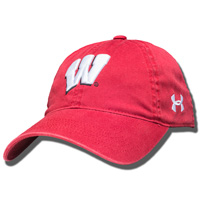 Cover Image For Under Armour Women's Wisconsin Motion W Hat (Red) *