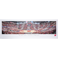 Image For Blakeway Panorama UW Red and White Game Poster