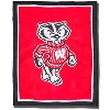 Image for The Jardine Collection Bucky Badger Knit Blanket