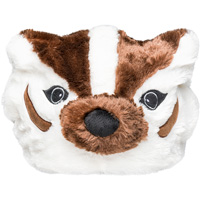Image For Forever Collectibles Plush Bucky Badger Hat