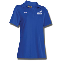Image For Under Armour AmFam Championship Team Women's Polo (Royal)*