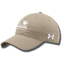 Image For Under Armour AmFam Championship Chino Hat (Khaki)*