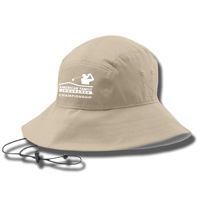 Image For Under Armour AmFam Championship Bucket Hat (Khaki)*