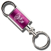Image for LXG Inc. Wisconsin Engraved Valet Key Chain (Hot Pink)