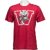 Image for '47 Brand Vault Bucky Badger Club T-Shirt (Red)