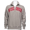 Image for '47 Brand Wisconsin Badgers ¼ Zip Sweatshirt (Wolf Grey)