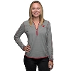 Image for Cutter & Buck Women's Wisconsin ¾ Zip Shirt