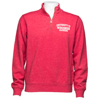 Cover Image For League UW ¼ Triblend Sweatshirt (Vintage Red) *