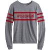 Image for League Women's Wisconsin Long Sleeve Shirt (Gray) *