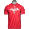 Cover Image for Alta Gracia Wisconsin Badgers T-Shirt (Gray)