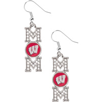 Cover Image For Gentry USA, Inc Wisconsin Mom Earrings