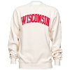 Image for Blue 84 Wisconsin Felt Crew Neck (Cream)