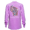 Cover Image for Blue 84 Women's Wisconsin Long Sleeve (Purple)