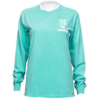 Image For Blue 84 Women's Wisconsin Long Sleeve (Seafoam)