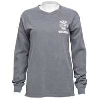 Image For Blue 84 Women's Wisconsin Long Sleeve (Charcoal)