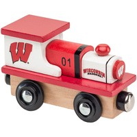 Cover Image For Master Pieces Co. Wisconsin Badgers Toy Train