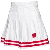 Image for ZooZatz Women's Wisconsin Badger Cheer Skirt (White/Red)