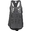 Image for ZooZatz Women's WIS-CON-SIN Tank Top (Gray) *