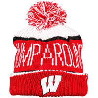 Cover Image For '47 Brand Jump Around Knit Hat (Red/White/Black)