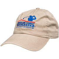Cover Image For Ahead AmFam Insurance Championship Hat (Khaki)*