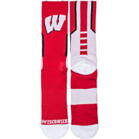 Image For Donegal Bay Wisconsin Sport Socks (Red)