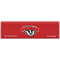 Image For Jardine Wisconsin Badgers Chocolate Bar