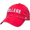 Image for '47 Brand College Adjustable Hat (Red)