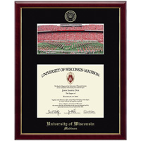 Image For Church Hill Classics School Diploma Frame-Camp Randall Photo