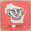 Image for Legacy Bucky Badger Home Canvas (Red)