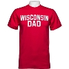 Cover Image for Blue 84 Wisconsin Dad Block Letter T-Shirt (Red)