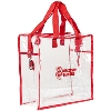 Image for Neil Enterprises, Inc. Wisconsin Badgers Clear Tote (Red)