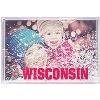 Cover Image for Neil Enterprises, Inc. Wisconsin Shield Ornament (Gold)