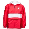 Image for Charles River Apparel Wisconsin Pullover Jacket (Red/White)