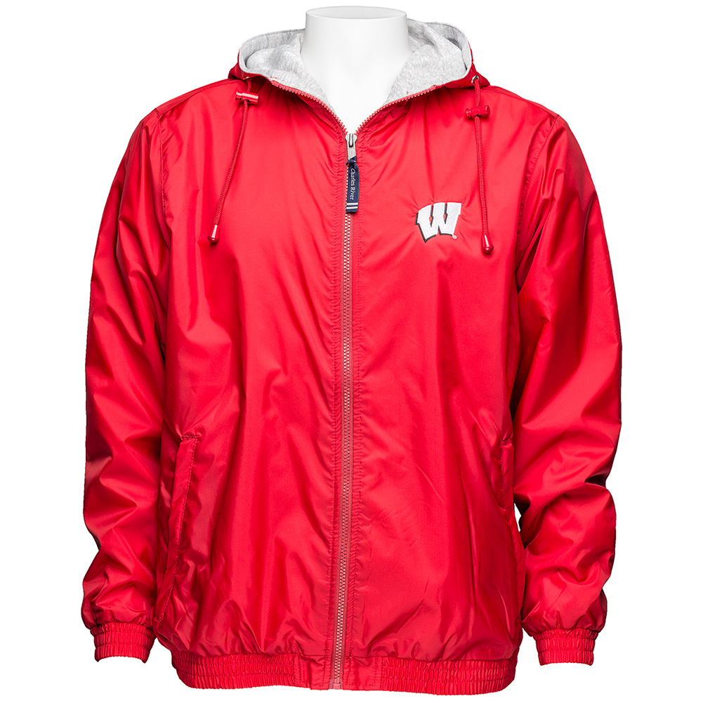 8100eaaa8 Charles River Apparel Wisconsin Jacket (Red)   University Book Store
