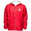 Cover Image for Charles River Apparel Wisconsin Pullover Jacket (Red/White)