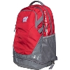 Image for Under Armour Wisconsin Hustle 3.0 Backpack (Red)