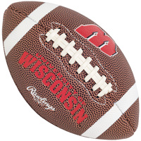 Cover Image For Rawlings Mini Wisconsin Football
