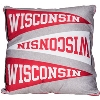 Cover Image for The Northwest Twin Wisconsin Bedding Set (Red/White)