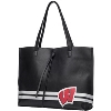 Image for Danielle Nicole Wisconsin Badgers Tote Bag (Black)