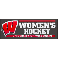 Cover Image For CDI Corp Wisconsin Women's Hockey Decal (Outside)