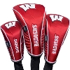 Image for Team Effort Wisconsin Badger Golf Head Cover Set